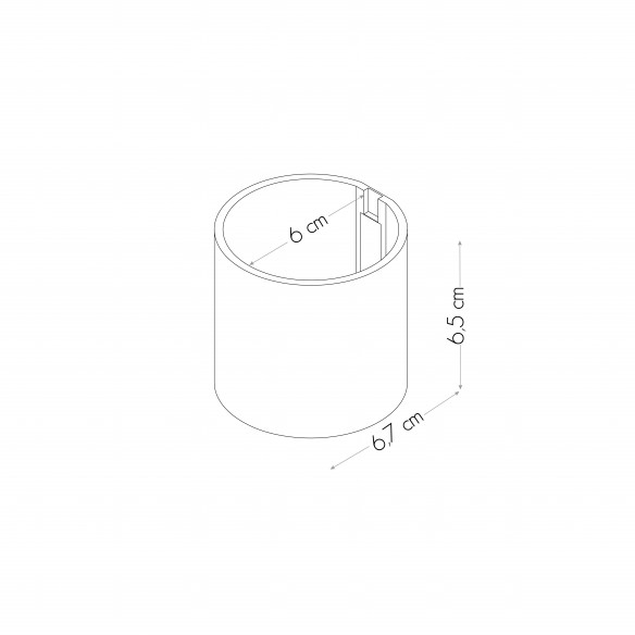 Magnetic Cylinder Ø 6 cm