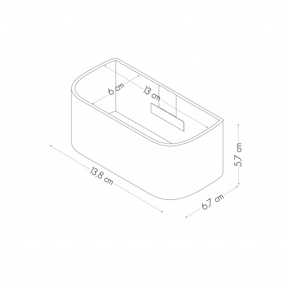 Cubeta Magnetica de 12 cm