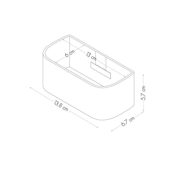 Vaschetta Magnetica da 12 cm