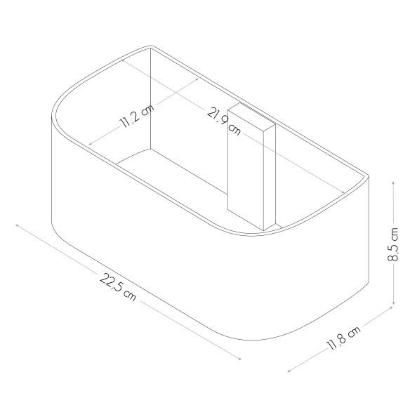 Cubeta Magnetica de 22 cm