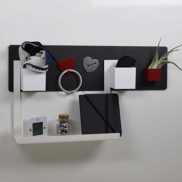 magnetic shelf - THENOTE CHARCOAL