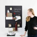 74x57 CM CHALKBOARD WITH MAGNETIC SHELF