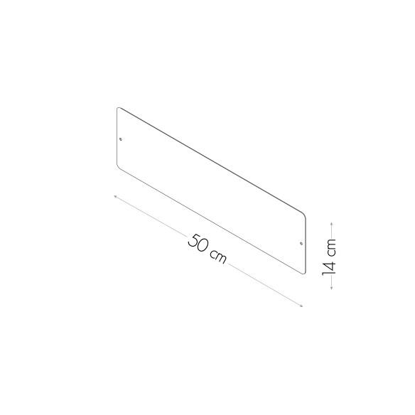 Magnetic Board 14x50 cm