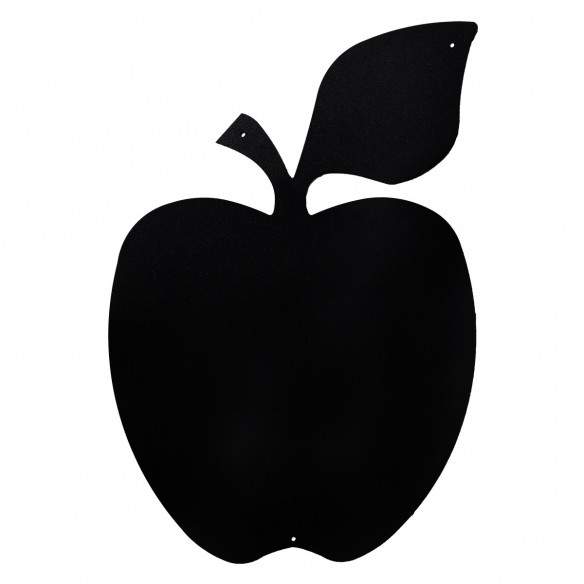 APPLE - MAGNETIC CHALKBOARD 56X38 CM