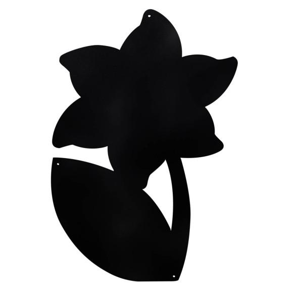 LILY FLOWER - MAGNETIC CHALKBOARD 56X38 CM