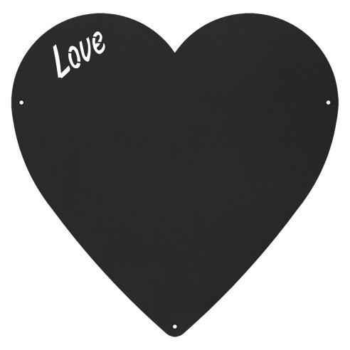 HEART - MAGNETIC CHALKBOARD 33X33 CM