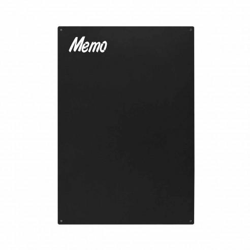 MAGNETIC CHALKBOARD WITH ENGRAVE