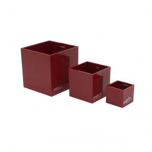 SET OF 3 MAGNETIC CUBES - Ø 3,5-6-9 CM
