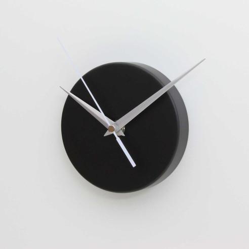 ROUND MAGNETIC CLOCK / MATT BLACK