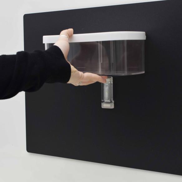 Vaschetta Trasparente da 22cm con Coperchio