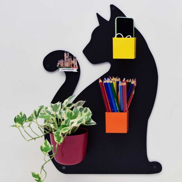 SHE CAT - MAGNETIC CHALKBOARD 56X38 CM